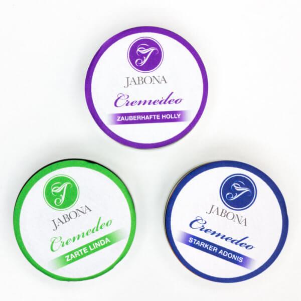Cremedeos - 3 Sorten