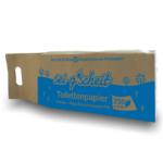 Toilettenpapier in Graspapierverpackung