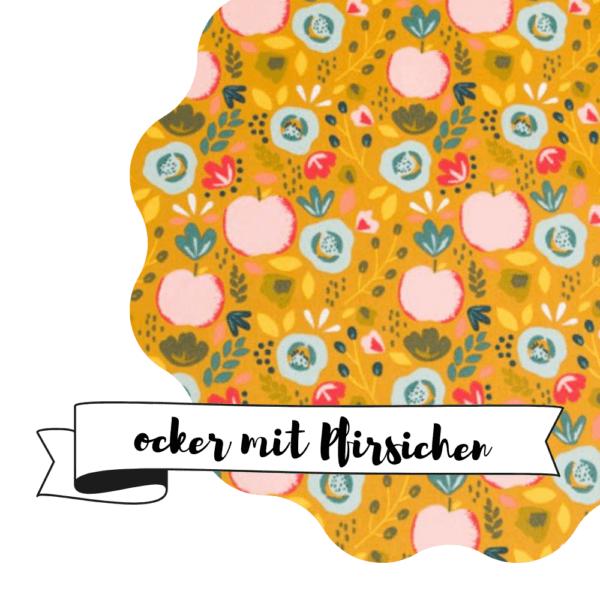 Haubi - Ocker mit Pfirsichen
